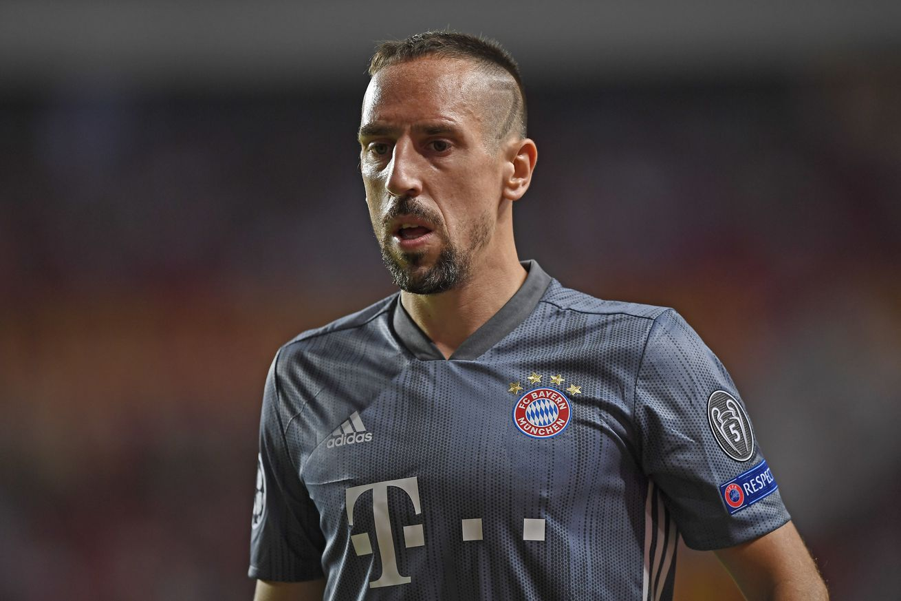 Franck Ribery offers apology for incident with reporter