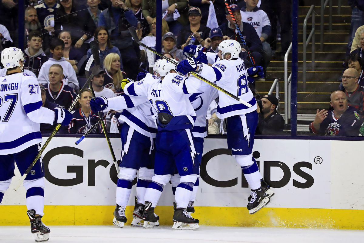 Tampa Bay Lightning Schedule 2020 Tampa Bay Lightning roster projection for 2019 2020 season   Raw