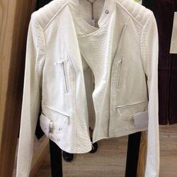 Resort 2013 Yigal Azrouel Leather Jacket, $500