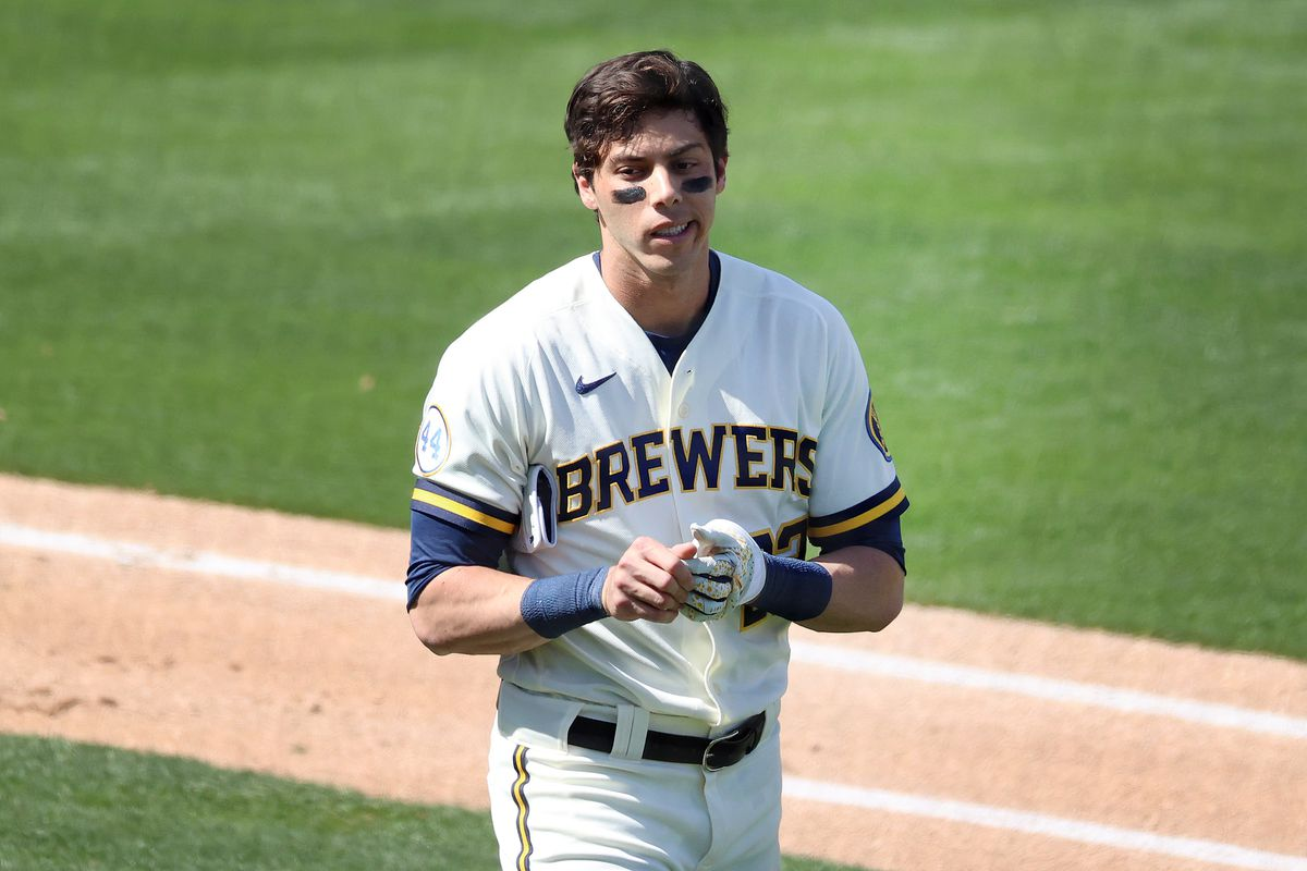 Christian Yelich of the Brewers