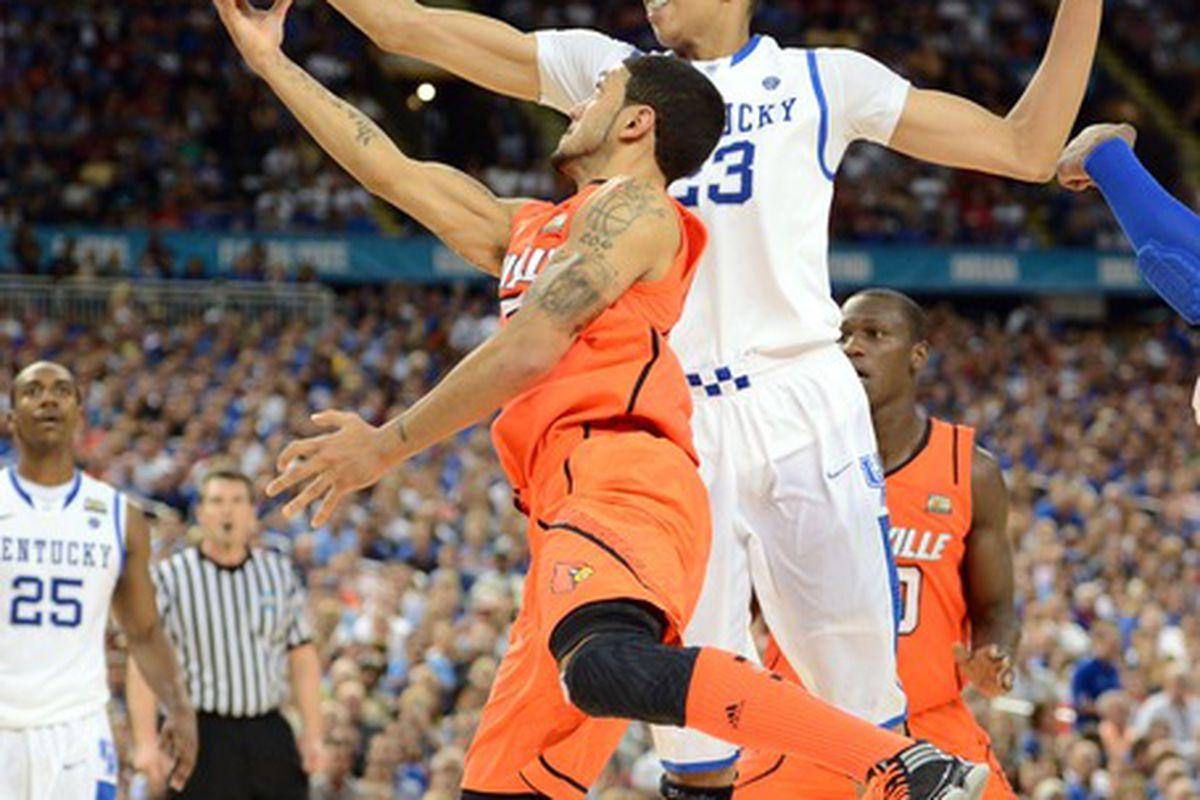 I still think Louisville's uniforms were more orange than red.
