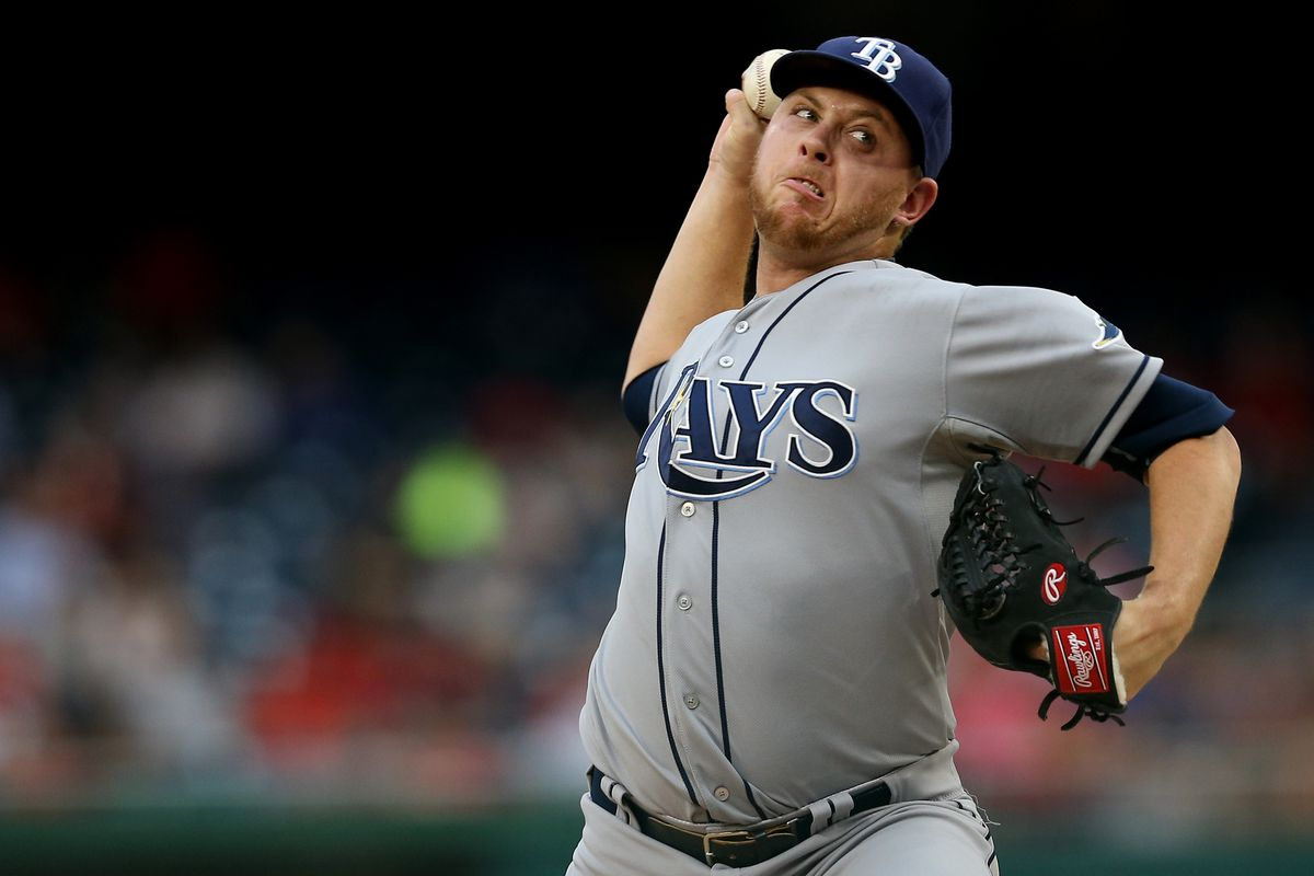 The Tampa Bay Rays started short reliever Steve Geltz and used three other pitchers to combine on a two hit shutout of the Nats on Wednesday.