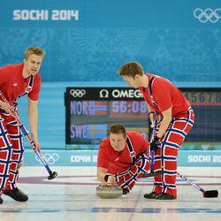 Gotta love the Norwegian curling pants