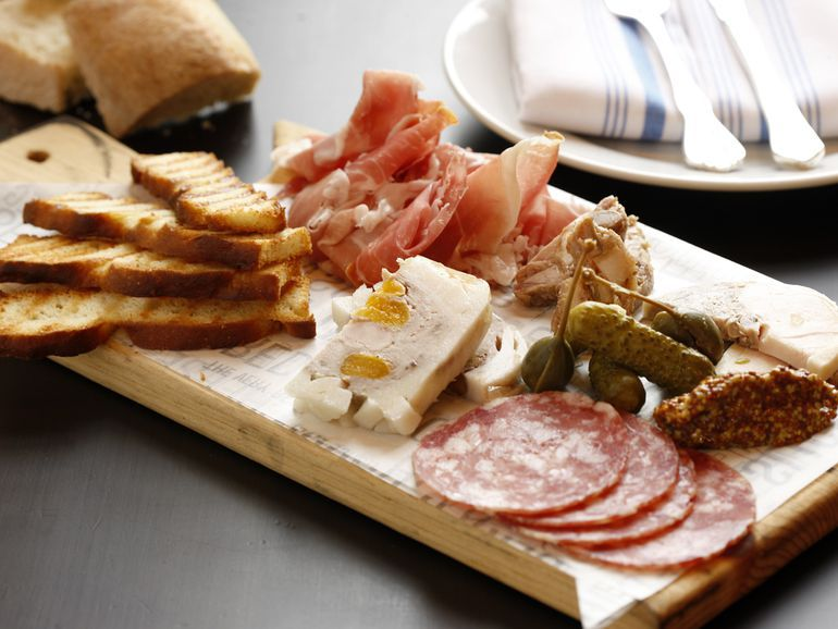 """Charcuterie board at <span data-author=""""4336141"""">Echo &amp; Rig Butcher &amp; Steakhouse </span>"""