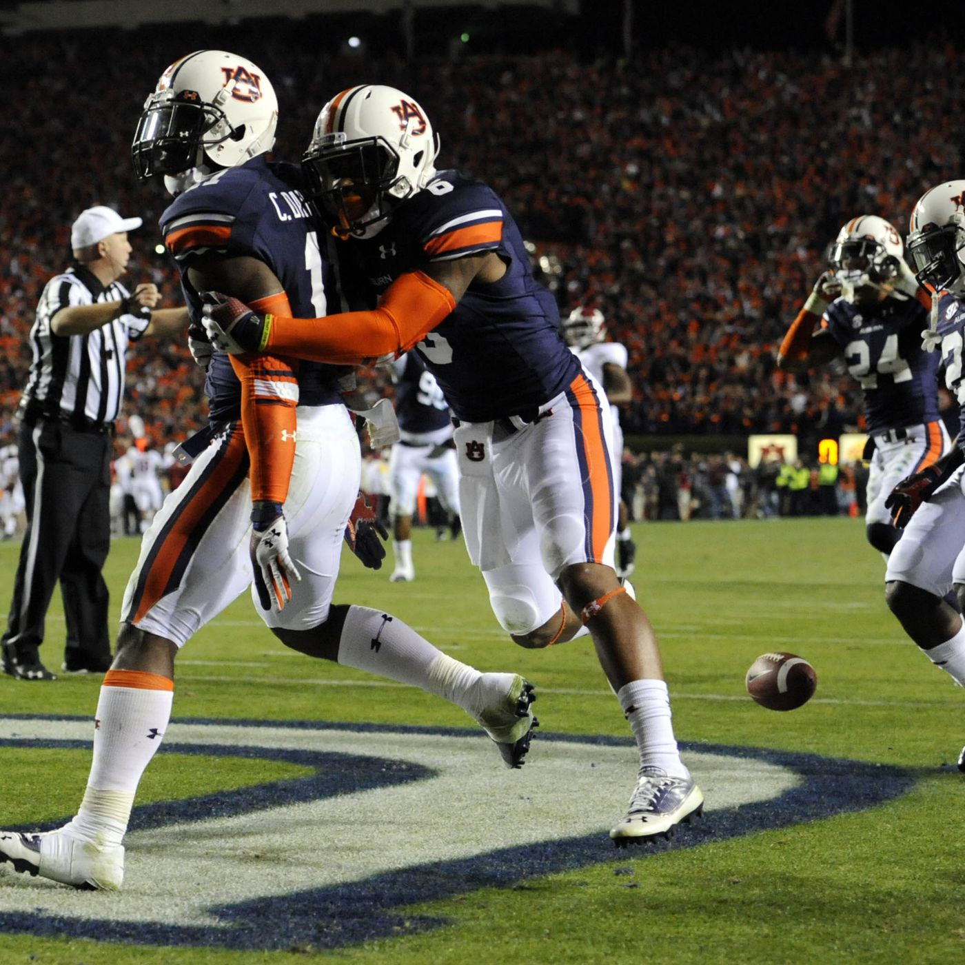 Iron Bowl 2013, Auburn 34, Alabama 28: Tigers win SEC West on ...