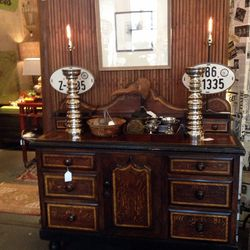 Dresser ($2,000) and lamps ($236)