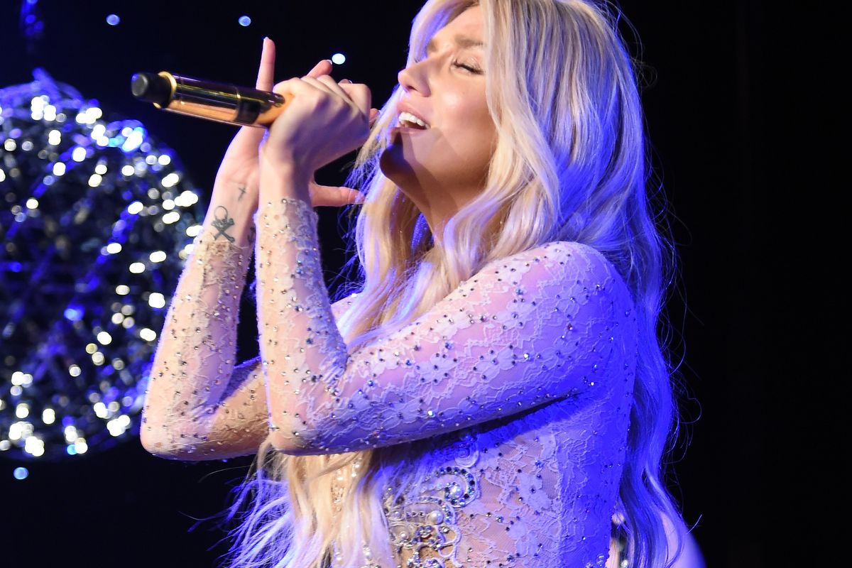 Kesha performs at the Ninth Annual Delete Blood Cancer Gala on April 16, 2015, in New York City.