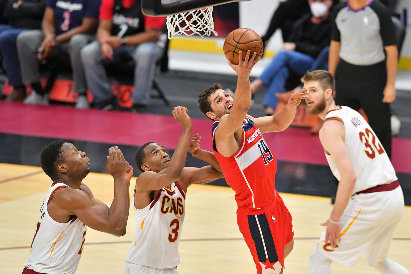 Washington Wizards v Cleveland Cavaliers