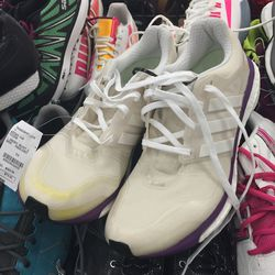 Adidas sneakers, size 9.5, $79.95 (from $159.95)