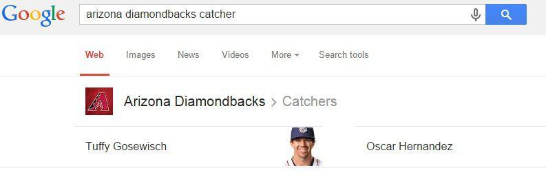 D-Backs Catchers