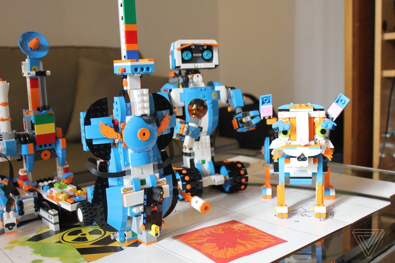 Lego's new robotics set lets kids program a cat to play the ...