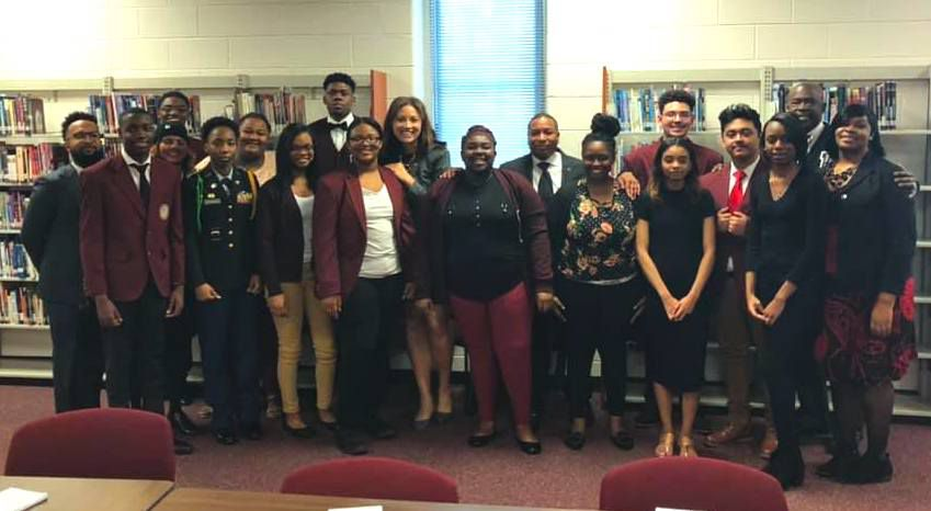 Tennessee's new education commissioner met with students at Douglass High School and Shelby County Schools leaders.