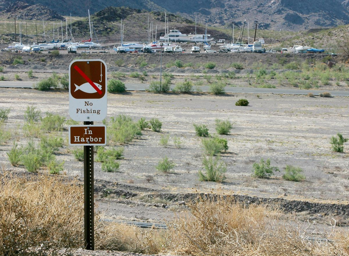 NV: Drought Drops Lake Mead Water Level To 40 Year Low
