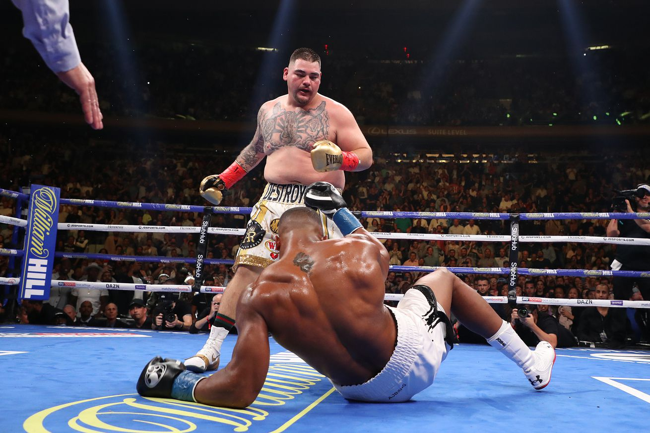 Ruiz shocks the world, stops Joshua in seven