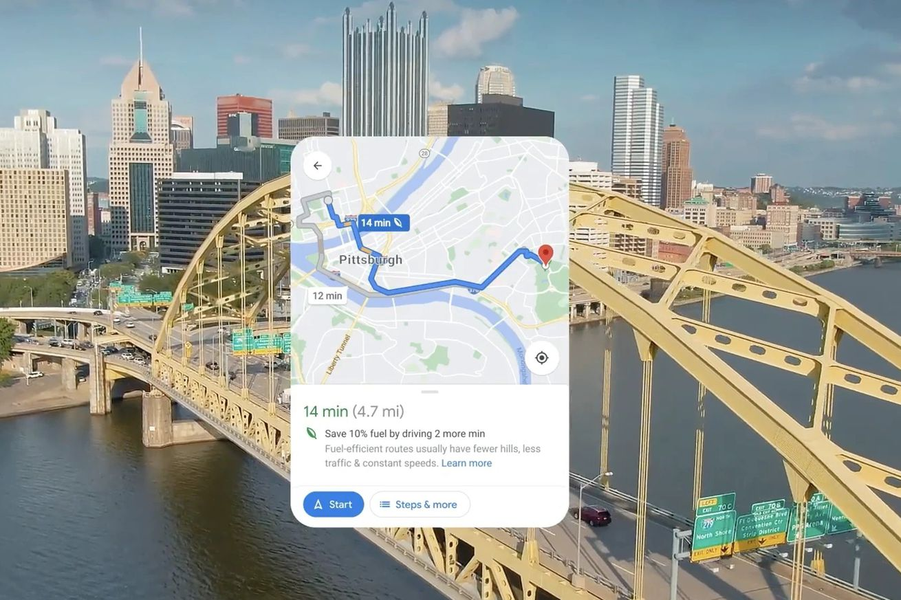 Google Maps will soon show users in the US the most fuel-efficient route.