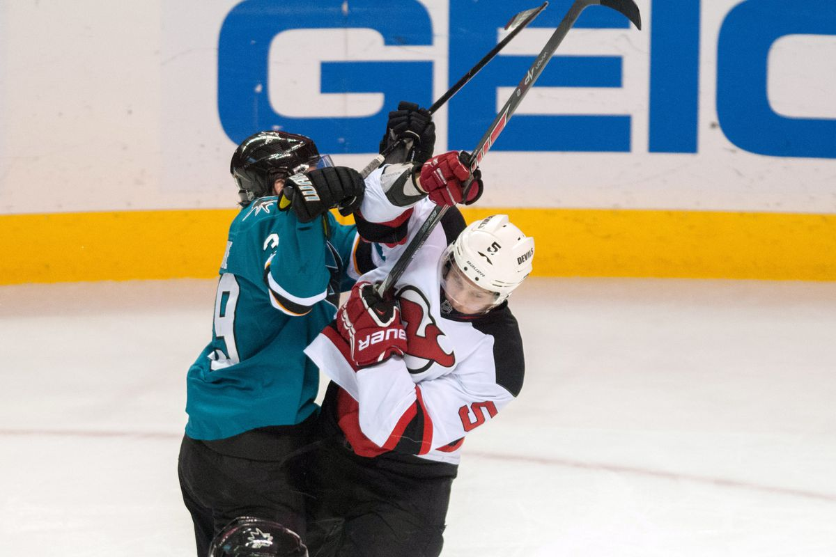 brand new b065e 91310 New Jersey Devils vs San Jose Sharks: Game Stream #62 - All ...