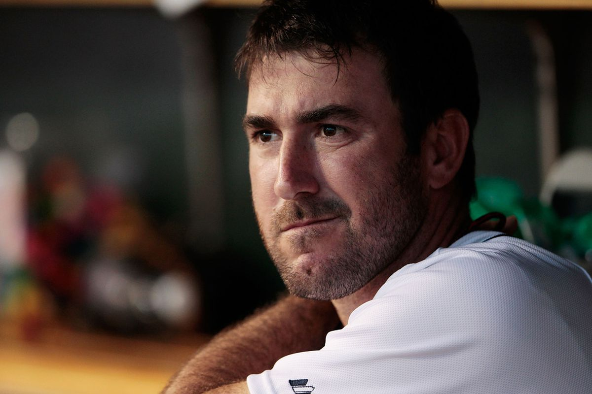Justin Verlander is bemused by your lack of faith.