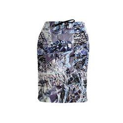 "Clashist Aluminum Foil Sweatskirt, <a href=""http://clashist.myshopify.com/collections/leggings/products/aluminum-foil-sweatskirt"">$105</a>"