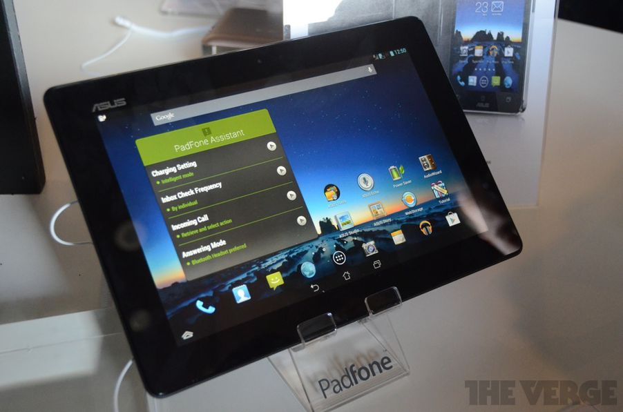 Asus's Padfone Infinity is a big phone, and an even bigger ...