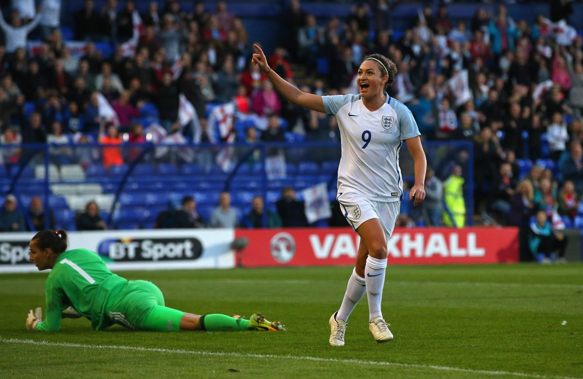 England v Russia - FIFA Women's World Cup Qualifier