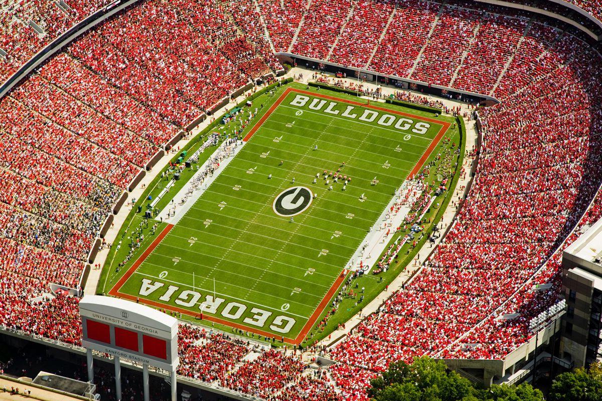 University Of Georgia Bulldogs Football Stadium