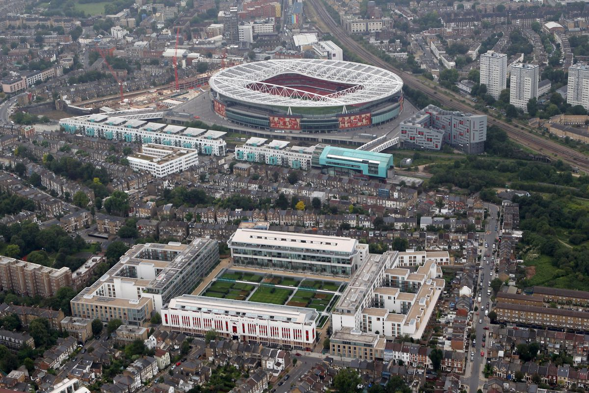 Aerial Views Of London Football Stadiums