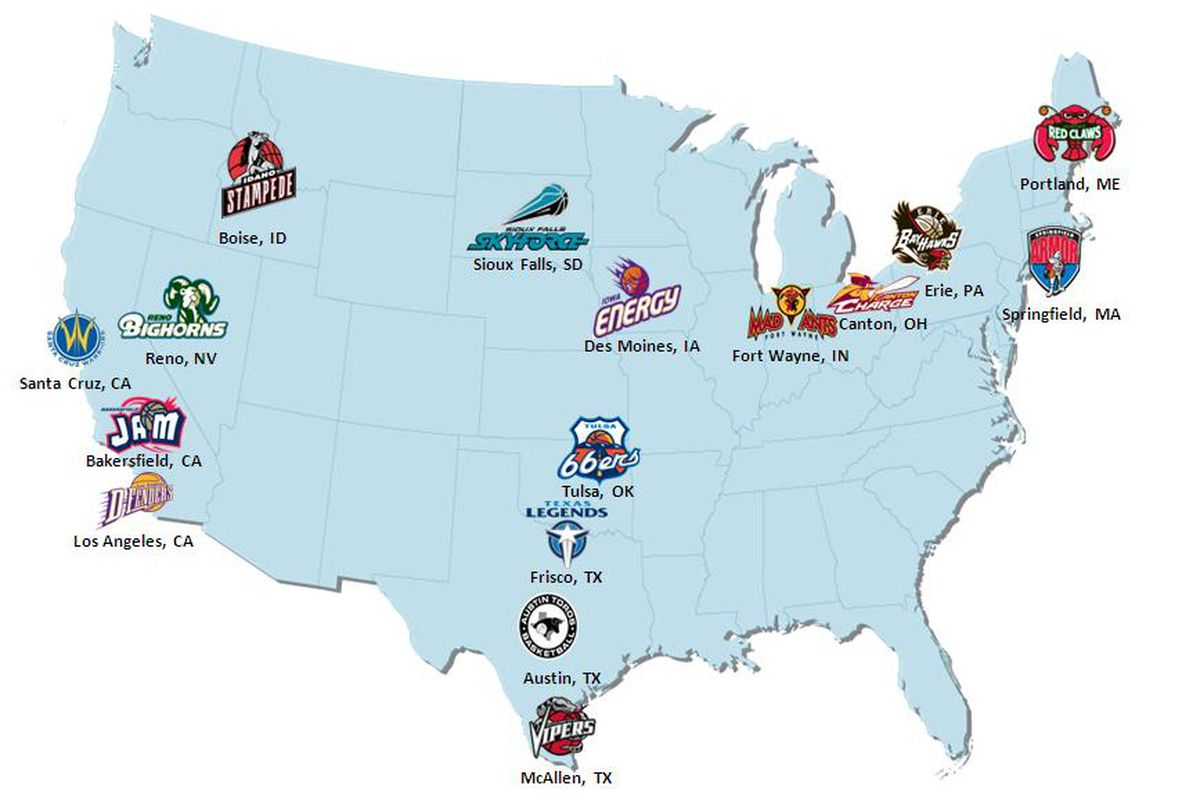 NBA Teams Choosing To Keep Their NBA D-League Affiliates Close To ...