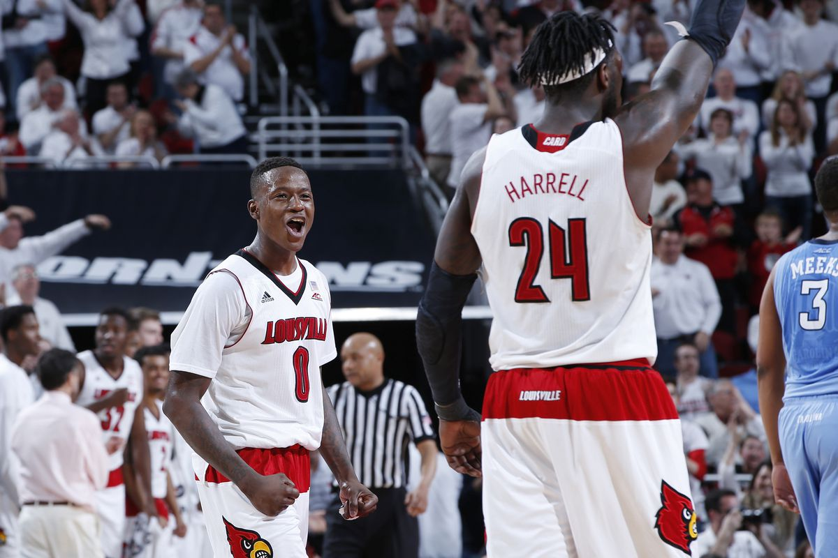 and USBWA named Rozier All-District  Harrell Terry Montrezl
