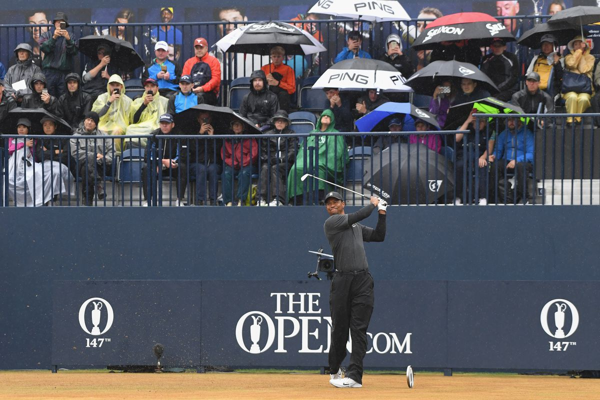 british open 2018  tee times  pairings for saturday
