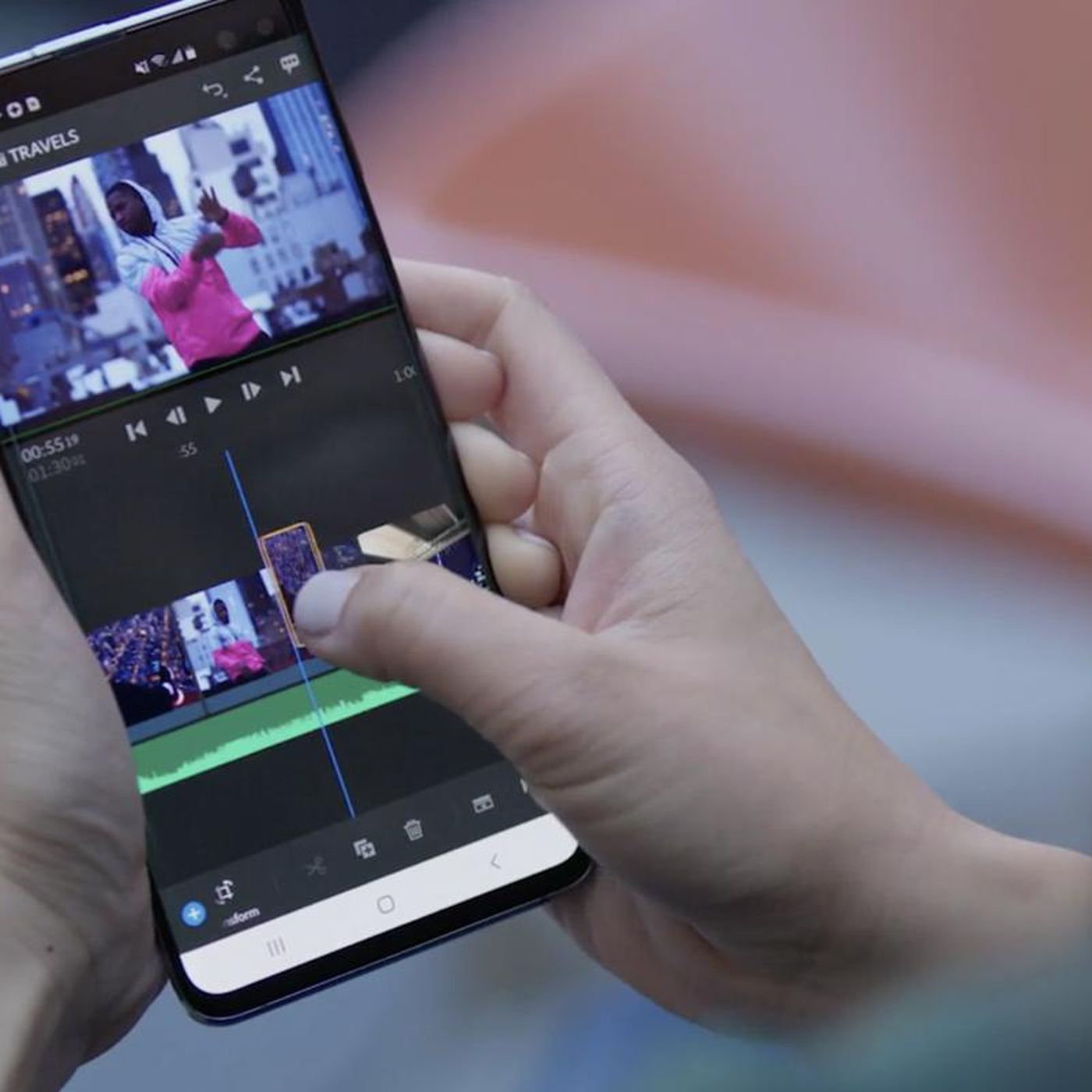 Premiere Rush, Adobe's video-editing app for YouTubers, is