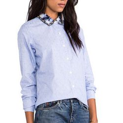"""Maison Scotch buttondown, <a href=""""http://www.revolveclothing.com/DisplayProduct.jsp?product=MSCO-WS45&row=0&column=2&c="""">$109</a> at REVOLVEclothing"""