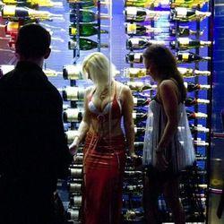 Girls in the champagne fridge, NBD