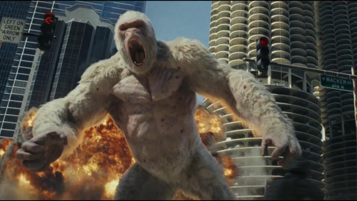 Rampage review: either the dumbest or most sneakily genius