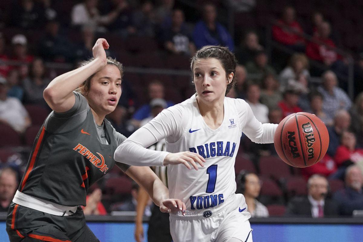 NCAA Womens Basketball: West Coast Conference Tournament-BYU vs Pepperdine