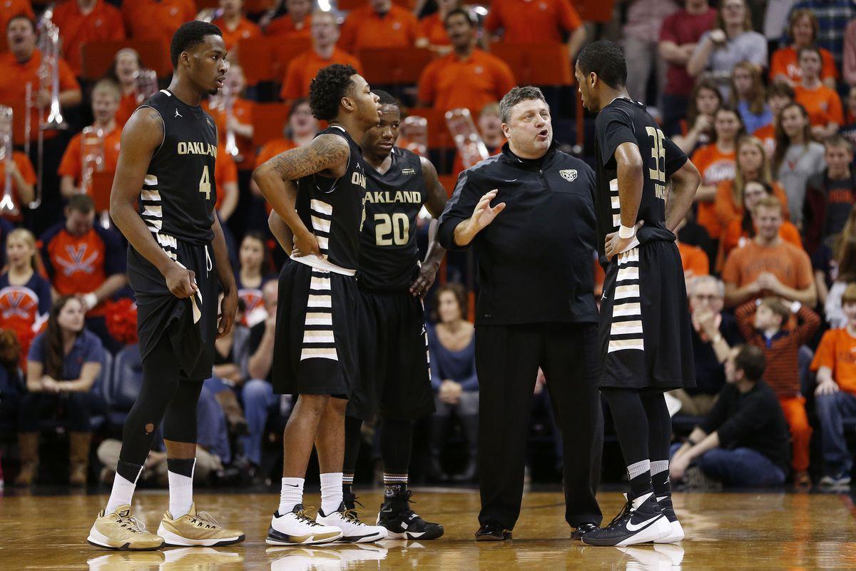 NCAA Basketball: Oakland at Virginia