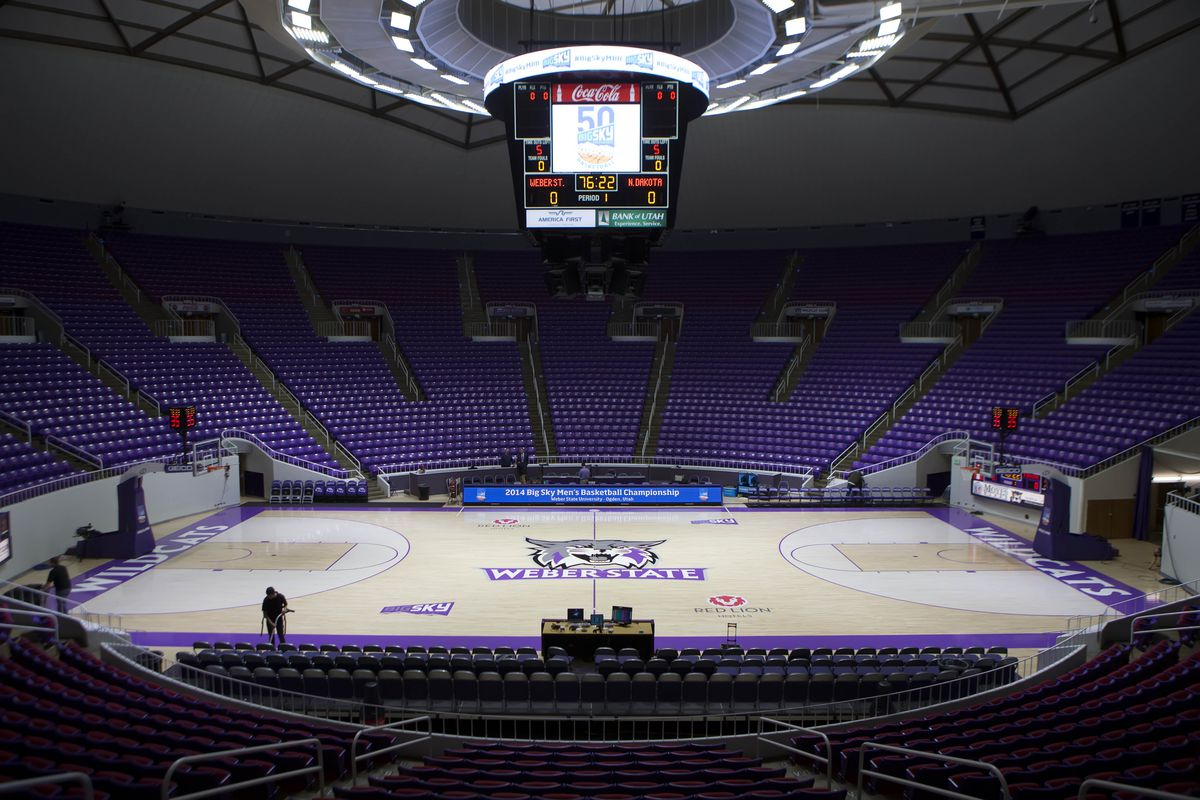 Weber State's Dee Events Center and Ogden, Utah is one of the seven sites under consideration for a pre-determined Big Sky Conference tournament location. Weber State hosted the 2014 conference tournament.