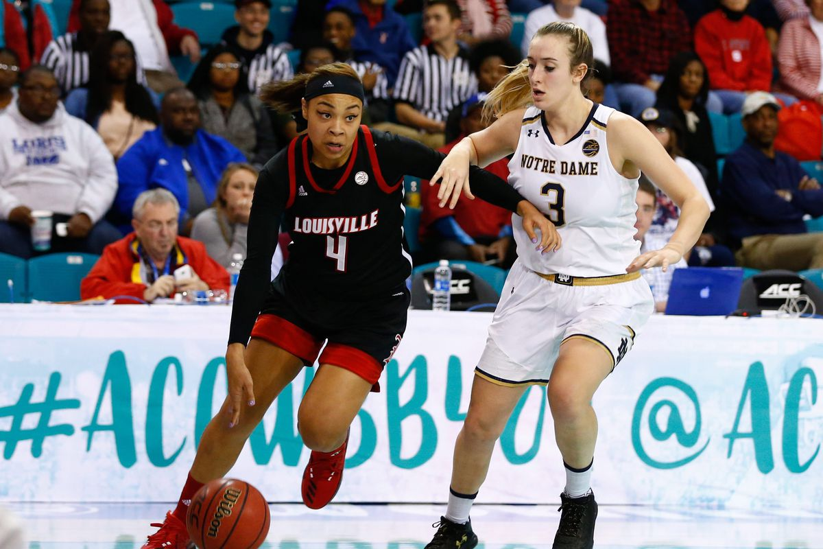 NCAA Womens Basketball: ACC Conference Tournament-Notre Dame vs Louisville