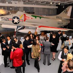 The party scene at the 8th annual Jeffrey Fashion Cares on the Intrepid Aircraft Carrier on March 28, 2011 in New York City.