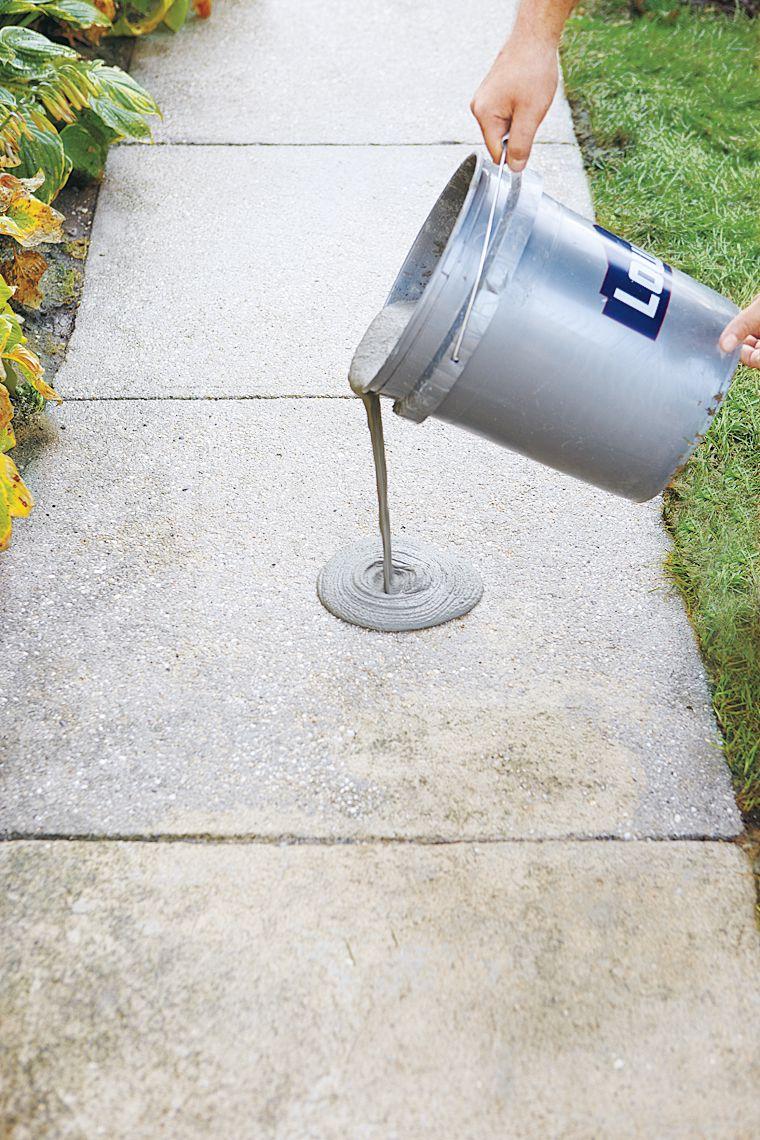 Concrete Resurfacer on Walkway