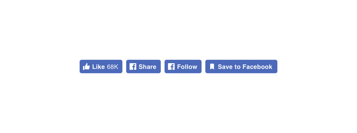 facebook social share buttons