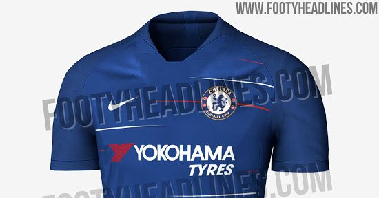 e03b746534 Chelsea 2018-19 home and away shirts leaked