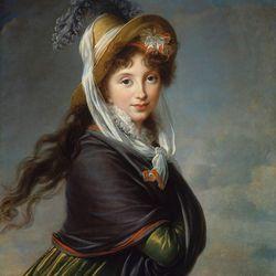 Marie Louise Elisabeth Vigée-Le Brun, Portrait of a Young Woman, Robert Dawson Evans Collection, Photo: ©2013 Museum of Fine Arts, Boston