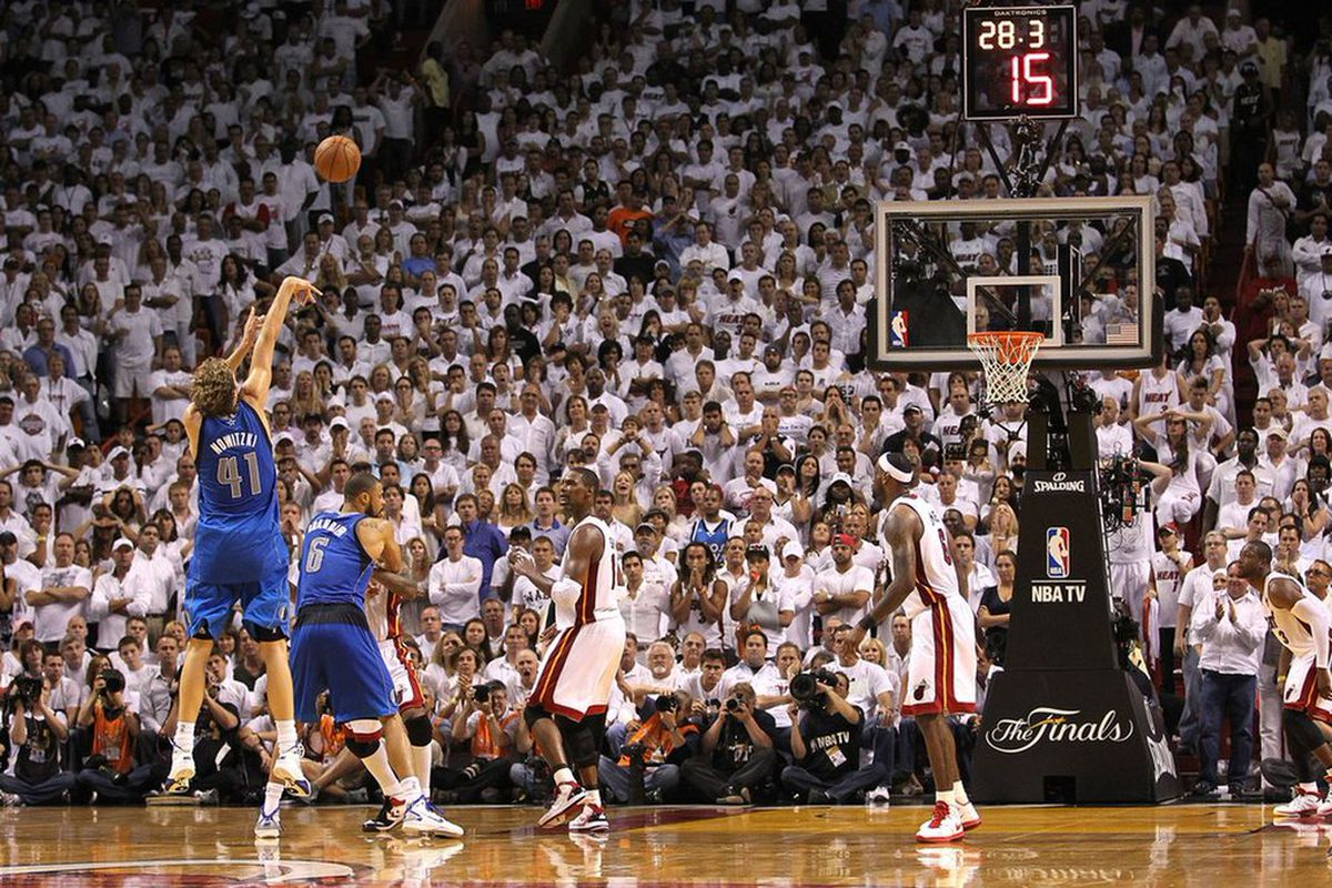 5 years ago today, the Mavericks made a 15-point comeback in Game 2 of the Finals - Mavs Moneyball