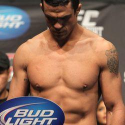 Feb 2011 Belfort weighs in for UFC 126