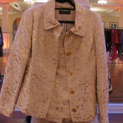 <b>Dolce & Gabbana</b> skirt suit, $450