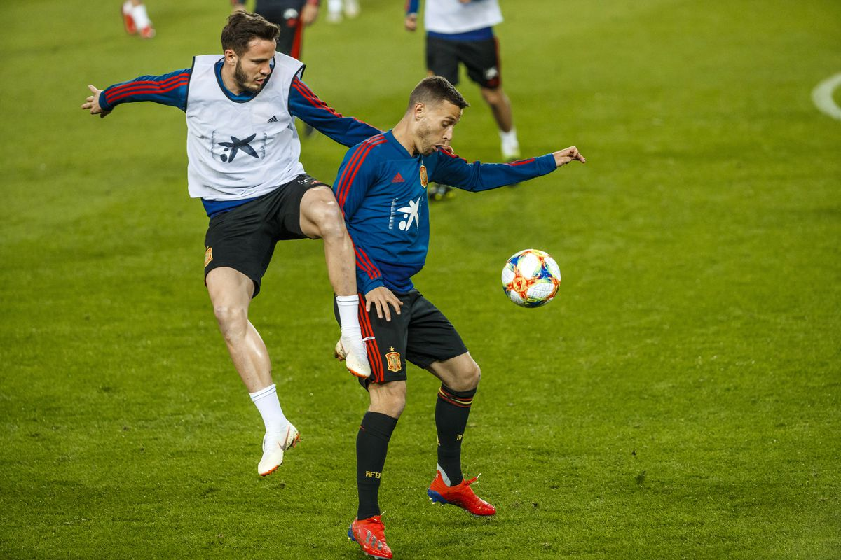 Spain Training and Press Conference