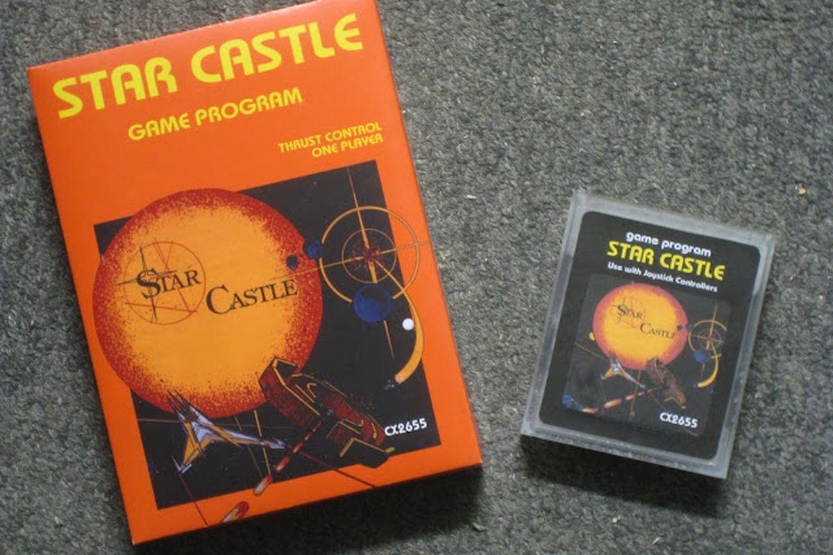 Star Castle Atari cartridge