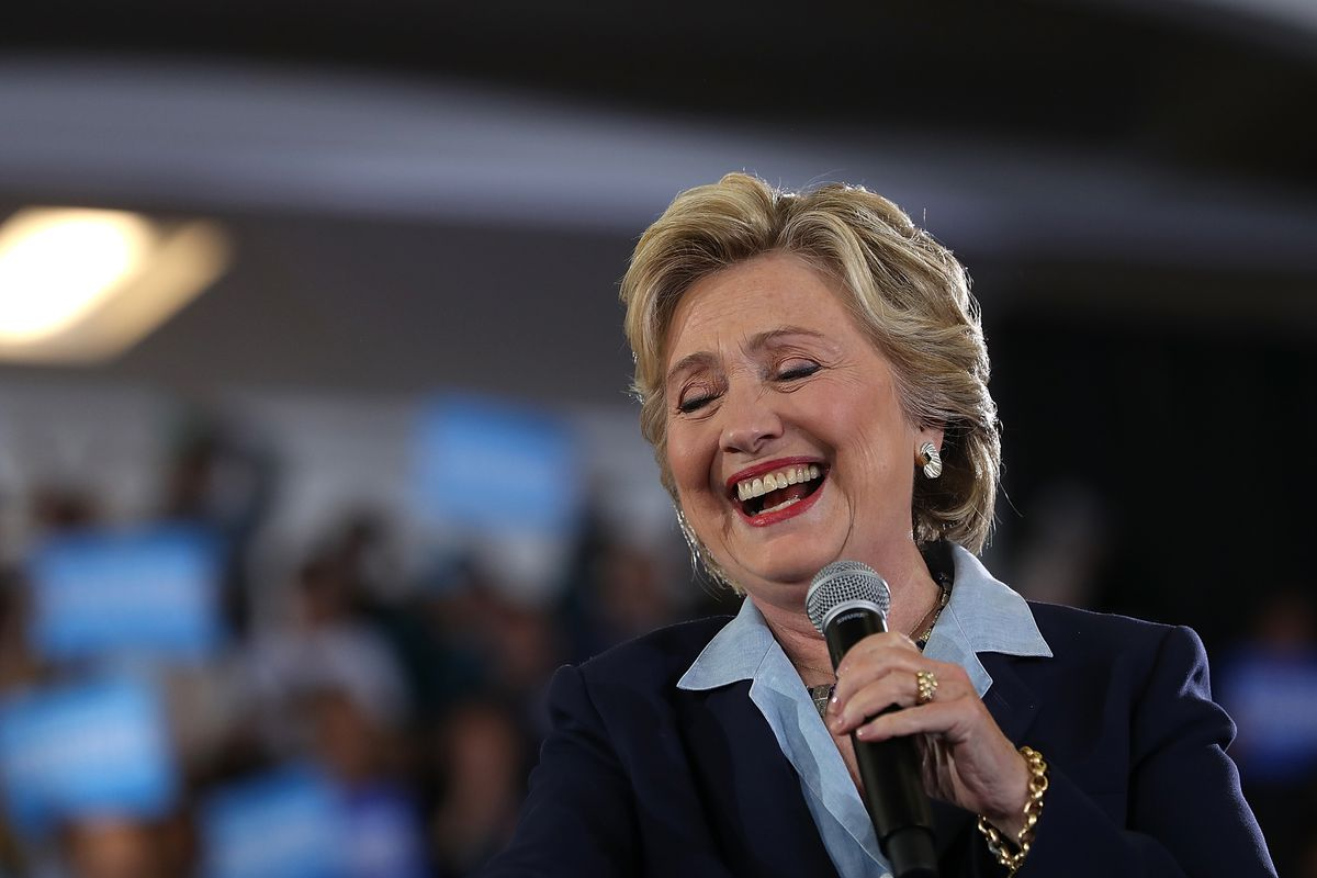 Hillary Clinton Attends Voter Registration Event In Akron,OH