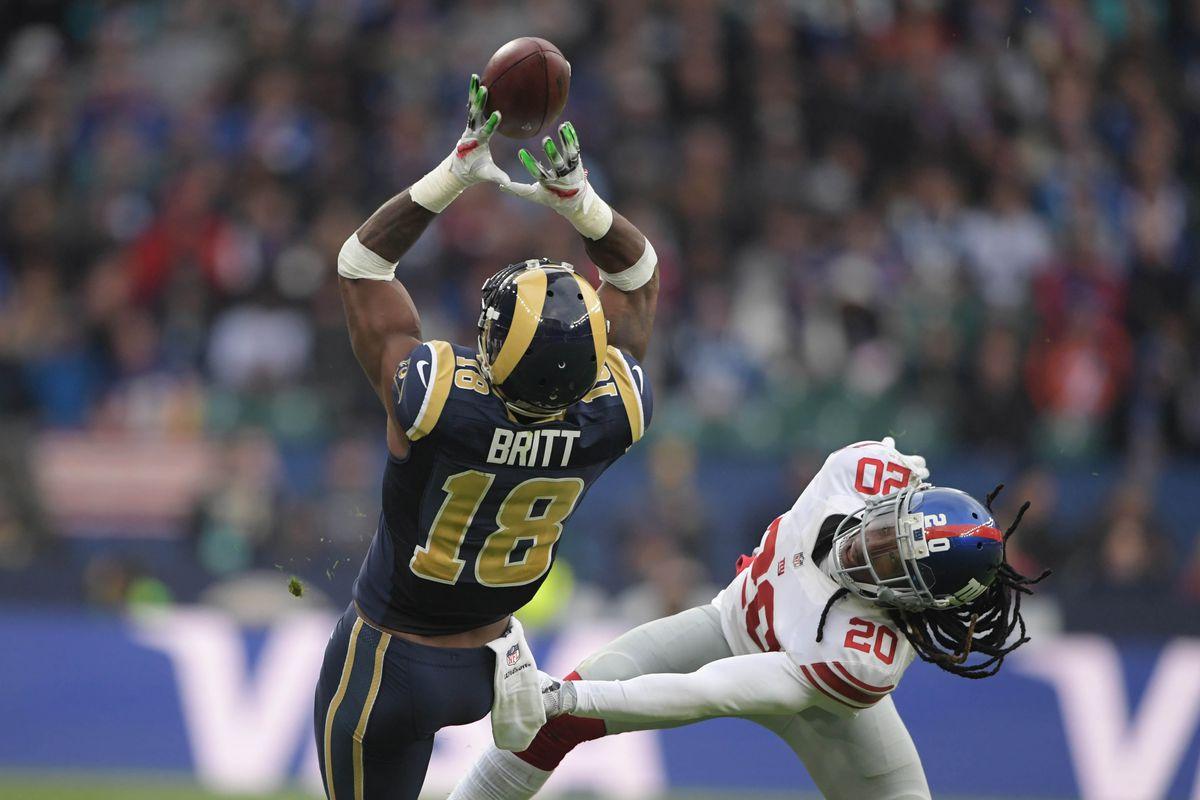 Los Angeles Rams WR Kenny Britt