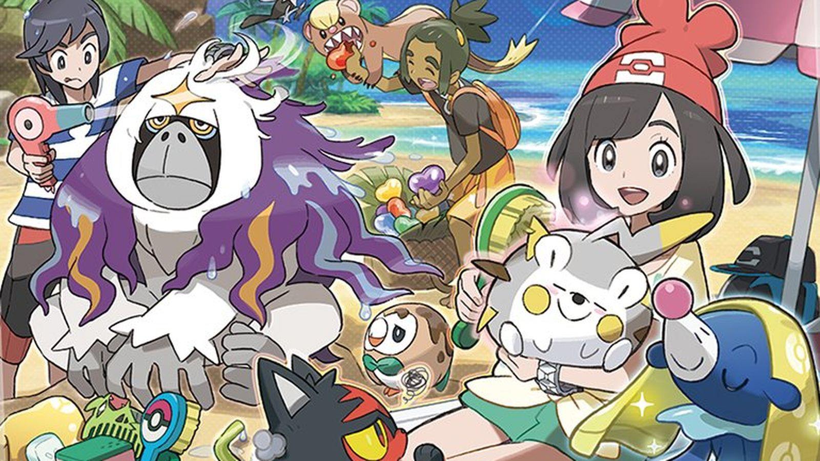 Pokémon Ultra Sun and Moon's photo mode is cute as heck